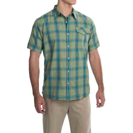 Mountain Khakis Shoreline Shirt - Short Sleeve (For Men) in Sweet Pea - Closeouts