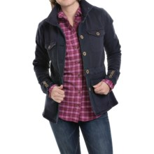 Mountain Khakis Silver Dollar Jacket (For Women) in Midnight Blue - Closeouts