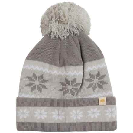 Mountain Khakis Snowflake Beanie (For Women) in Smoke - Closeouts