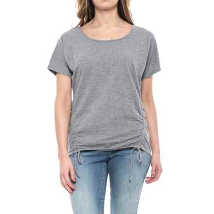Mountain Khakis Solitude Shirt - Short Sleeve (For Women) in Heather Grey - Closeouts