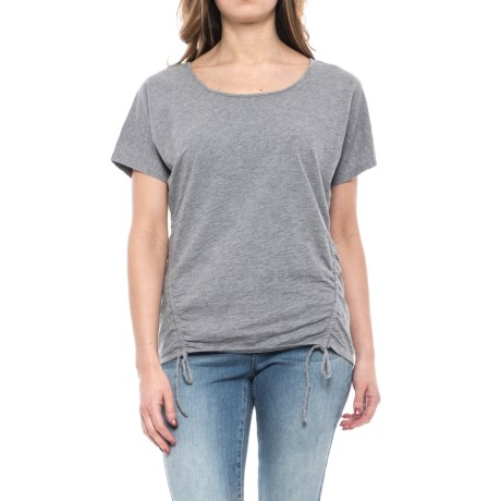 Mountain Khakis Solitude Shirt - Short Sleeve (For Women) in Heather Grey