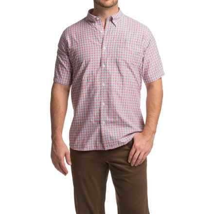 Mountain Khakis Spalding Gingham Shirt - Short Sleeve (For Men) in Summer Red - Closeouts