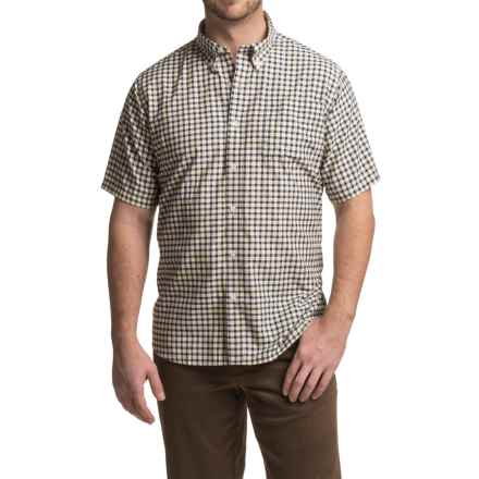 Mountain Khakis Spalding Gingham Shirt - Short Sleeve (For Men) in Zest - Closeouts
