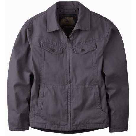 Mountain Khakis Stagecoach Jacket - Cotton Canvas (For Men) in Granite