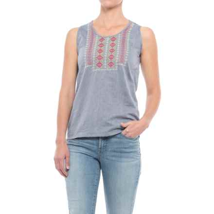 Mountain Khakis Sunnyside Tank Top (For Women) in Clear Blue - Closeouts