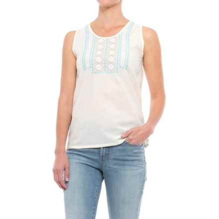 Mountain Khakis Sunnyside Tank Top (For Women) in Cream - Closeouts