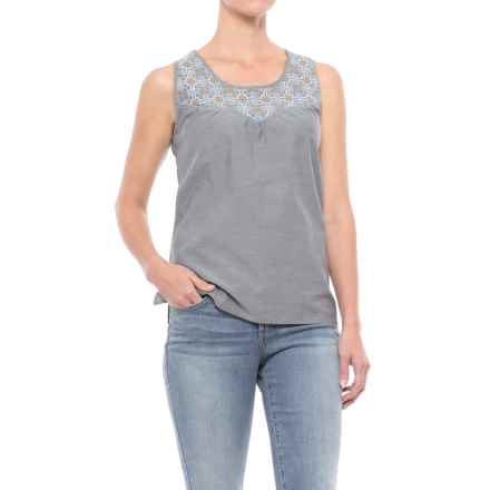 Mountain Khakis Sunnyside Tank Top (For Women) in Navy - Closeouts
