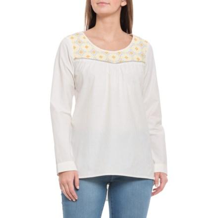 e6c4ff73 Mountain Khakis Sunnyside Tunic Shirt - Long Sleeve (For Women) in Linen -  Closeouts