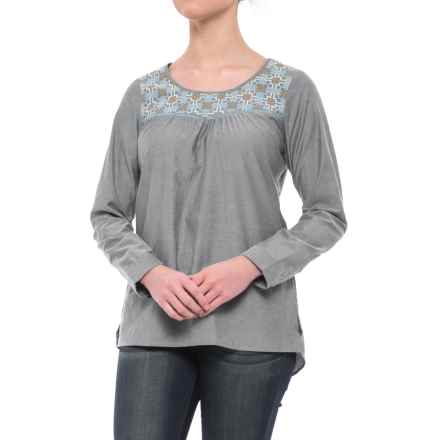 Mountain Khakis Sunnyside Tunic Shirt - Long Sleeve (For Women) in Navy - Closeouts