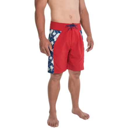 Mountain Khakis SurfSUP Relaxed-Fit Boardshorts - UPF 40+  (For Men) in Engine Red - Closeouts