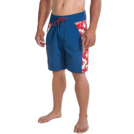 Mountain Khakis SurfSUP Relaxed-Fit Boardshorts - UPF 40+  (For Men) in Marlin - Closeouts
