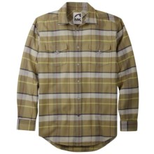 Mountain Khakis Teton Shirt - Flannel, Long Sleeve (For Men) in Avocado Multi - Closeouts