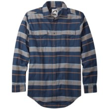 Mountain Khakis Teton Shirt - Flannel, Long Sleeve (For Men) in Blue Work Multi - Closeouts