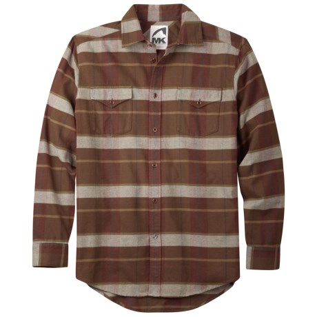 Mountain Khakis Teton Shirt - Flannel, Long Sleeve (For Men) in Avocado Multi