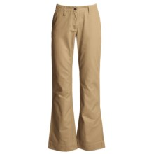 Mountain Khakis Teton Twill Pants - Cotton (For Women) in Retro Khaki - Closeouts