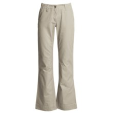 Mountain Khakis Teton Twill Pants - Cotton (For Women) in Stone - Closeouts