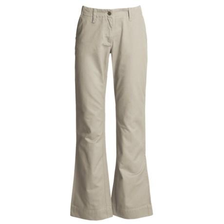 Mountain Khakis Teton Twill Pants - Cotton (For Women) in Willow