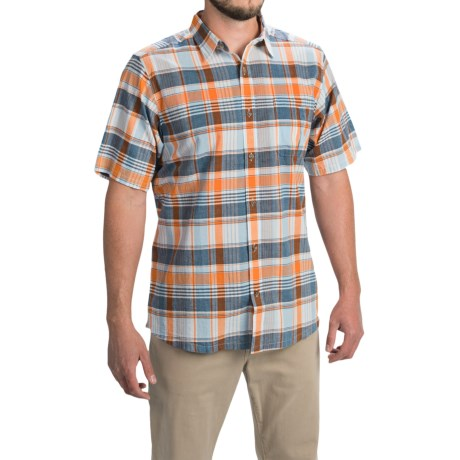 Mountain Khakis Tomahawk Madras Shirt Short Sleeve (For Men)