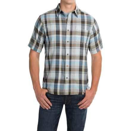 Mountain Khakis Tomahawk Madras Shirt - Short Sleeve (For Men) in Morning Sky Multi - Closeouts