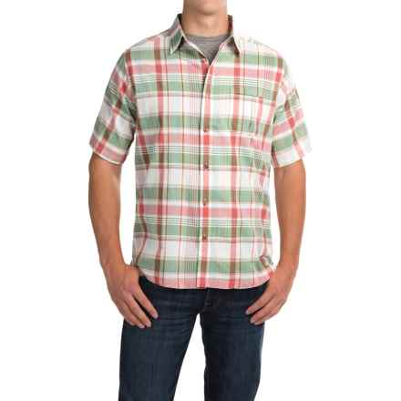 Mountain Khakis Tomahawk Madras Shirt - Short Sleeve (For Men) in Scout Multi - Closeouts