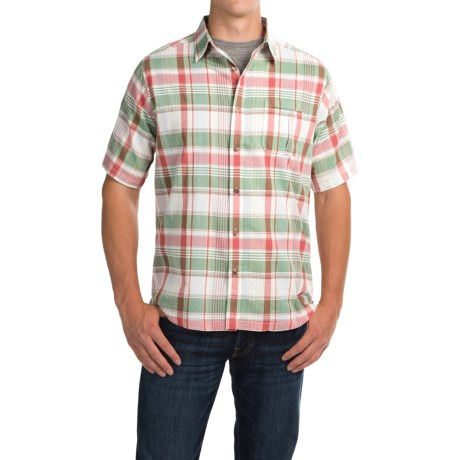 Mountain Khakis Tomahawk Madras Shirt - Short Sleeve (For Men)