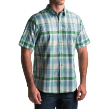 Mountain Khakis Tomahawk Madras Shirt - Short Sleeve (For Men) in Turf Multi - Closeouts