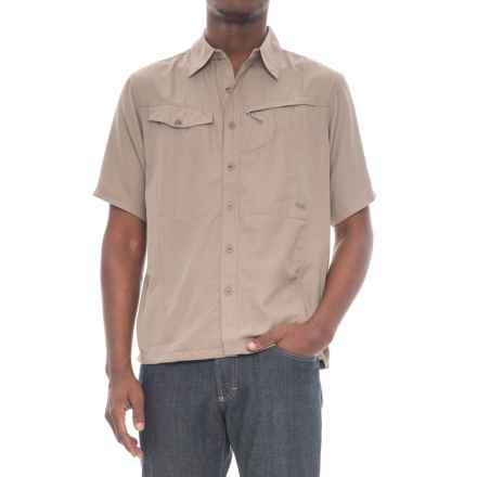 Mountain Khakis Trail Creek Shirt - UPF 40+, Short Sleeve (For Men) in Truffle - Closeouts