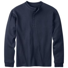 Mountain Khakis Trapper Henley Shirt - Long Sleeve (For Men) in Navy - Closeouts