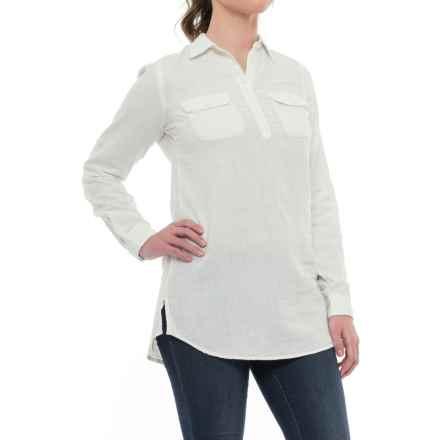 Mountain Khakis Two Ocean Tunic Shirt - Long Sleeve (For Women) in Linen - Closeouts