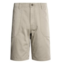 Mountain Khakis Village Shorts (For Men) in Stone - Closeouts