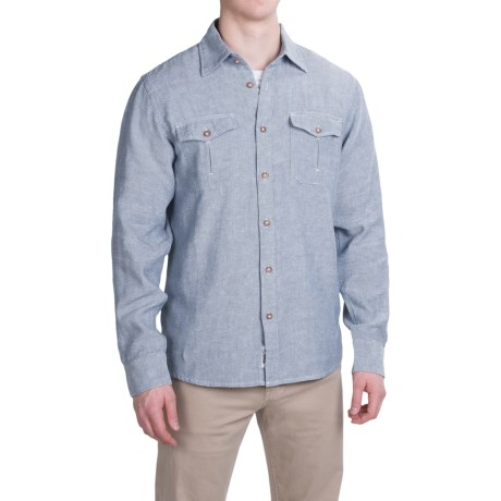 Mountain Khakis Yak Shirt Organic Cotton Blend, Long Sleeve (For Men)