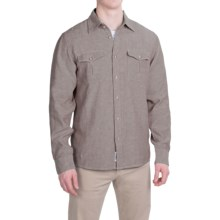 Mountain Khakis Yak Shirt - Organic Cotton Blend, Long Sleeve (For Men) in Terra/Freestone - Closeouts