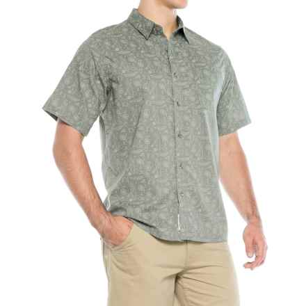 Mountain Khakis Zodiac Signature Print Shirt - Short Sleeve (For Men) in Gunmetal - Closeouts