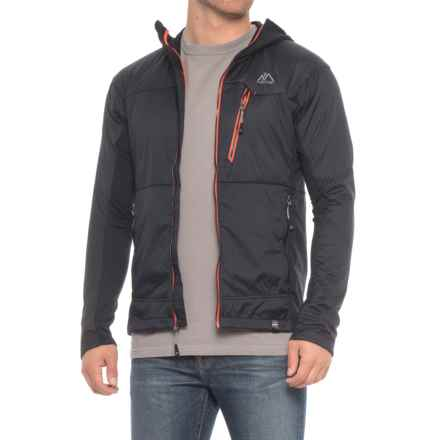Mountain Logic Alpha Ascender Hoodie - Insulated (For Men) in Black - Closeouts