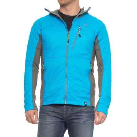 Mountain Logic Alpha Ascender Hoodie - Insulated (For Men) in Bright Blue/Gunmetal - Closeouts