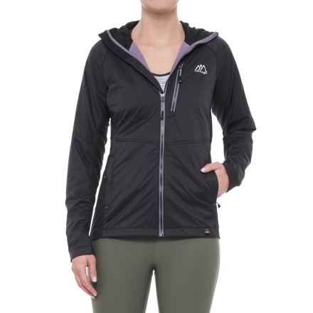 Mountain Logic Alpha Ascender Hoodie - Insulated (For Women) in Black - Closeouts