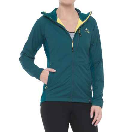Mountain Logic Alpha Ascender Hoodie - Insulated (For Women) in Caribbean - Closeouts