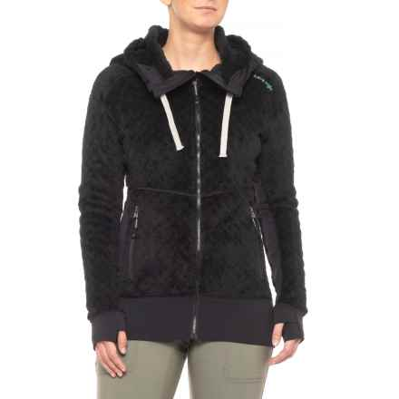 Mountain Logic Cozy Polartec® Hoodie - Insulated (For Women) in Black - Closeouts