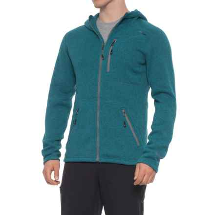 Mountain Logic Polartec® Thermal Pro® Hops Hoodie (For Men) in Caribbean Heather - Closeouts