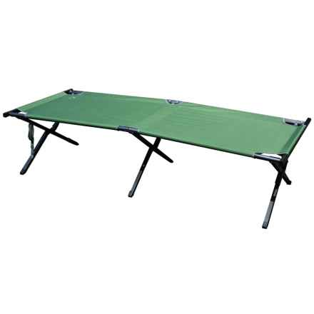 Mountain Summit Gear X-Large Cot in Green - Closeouts