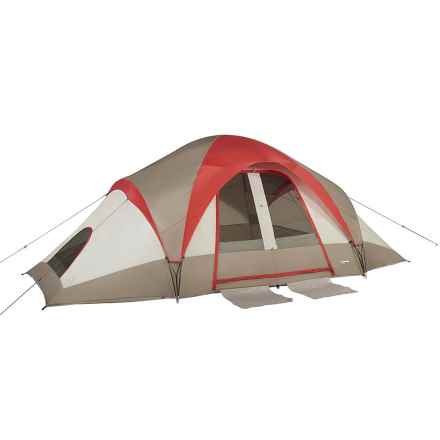 Mountain Trails Grand Pass Tent - 10-Person, 3-Season in Red - Closeouts