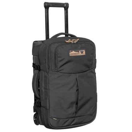 "Mountainsmith 22"" Boarding Pass Rolling Suitcase in Heritage Black - Closeouts"