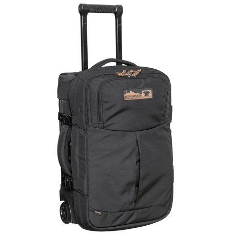 "Mountainsmith 22"" Boarding Pass Rolling Suitcase in Heritage Black"