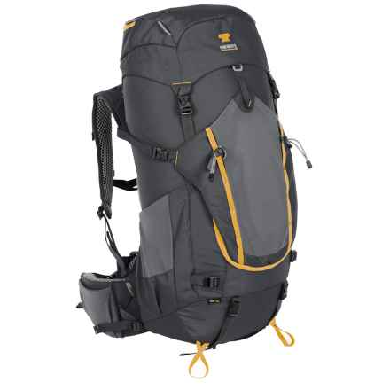Mountainsmith Apex 60 52L Backpack - Internal Frame in Anvil Grey - Closeouts