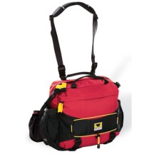 Mountainsmith Day TLS Lumbar Pack - Recycled Materials in Heritage Red - Closeouts