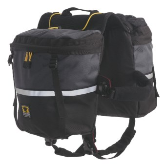 Mountainsmith Dog Pack - Small in Charcoal-Grey/Black