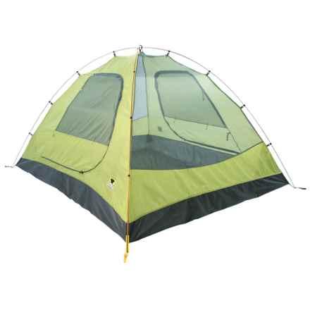Mountainsmith Equinox Tent - 4-Person/3-Season in Citron Green - Closeouts