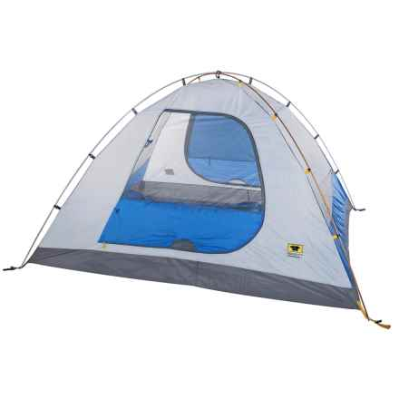 Mountainsmith Equinox Tent - 4-Person/3-Season in Lotus Blue - Closeouts