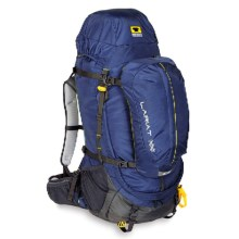 Mountainsmith Lariat 65L Backpack - Internal Frame in Midnight Blue - Closeouts