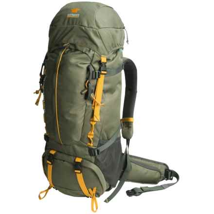 Mountainsmith Lookout 80L Backpack - Internal Frame in Pinon Green - Closeouts